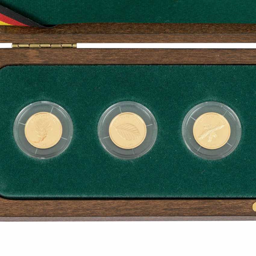 BRD/GOLD - series of the German forest, is 3 x 20 Euro, - photo 2