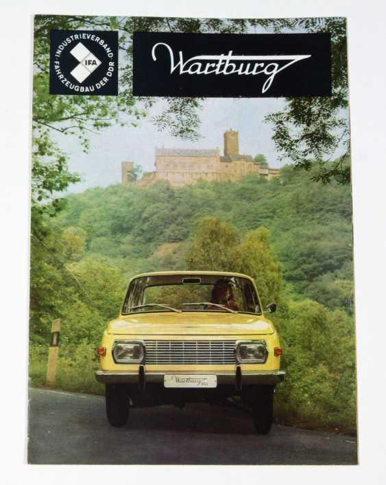 The Wartburg 353. Advertising brochure 1970 - photo 1