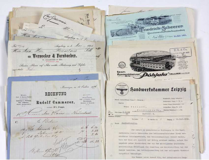 Post Company Documents 1876/1947 - photo 1