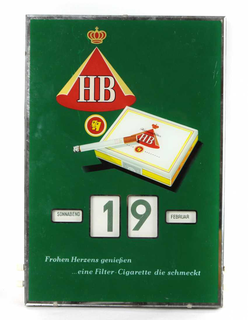 Wall calendar HB cigarettes - photo 1
