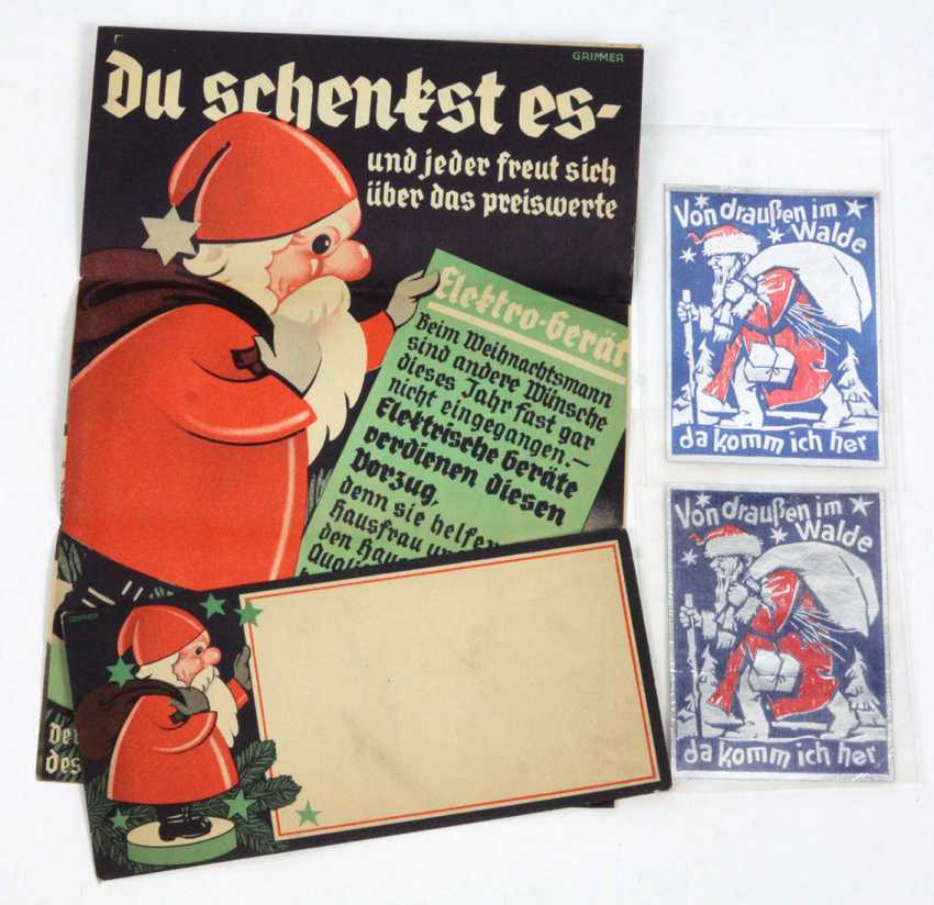 2 Christmas promotional letters, etc - photo 1