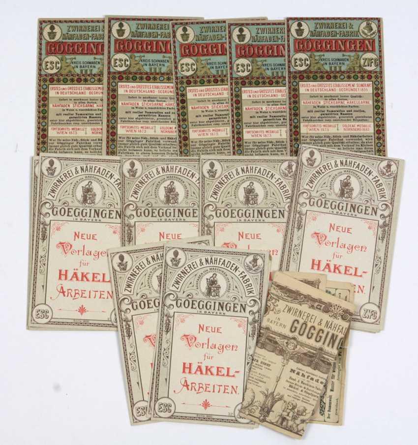 Embroidery patterns & Häkelkarten 1900 - photo 1