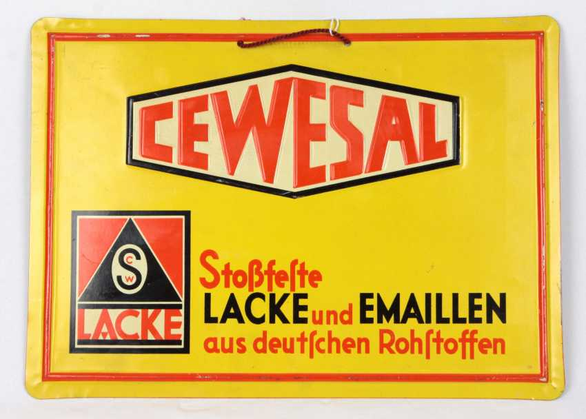 Advertising Sign *Cewesal* - photo 1