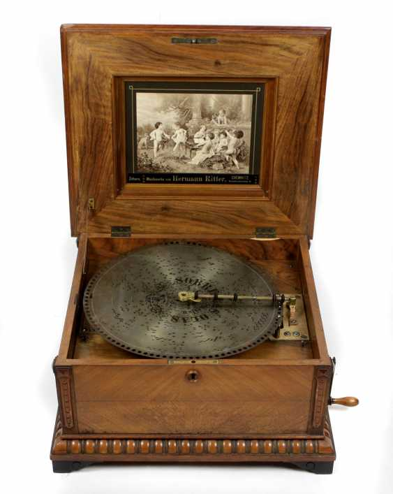 Pholyphon with 18 plates around 1890/1900 - photo 1