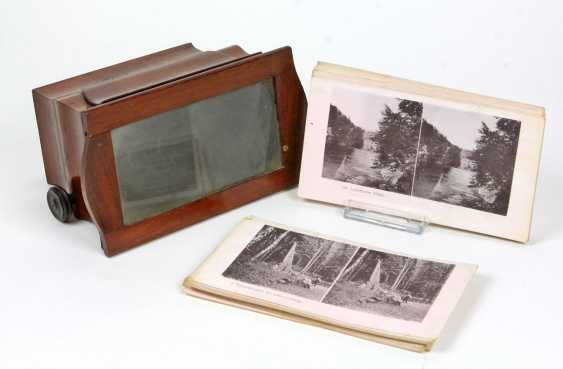 Stereo viewer with pictures set - photo 1