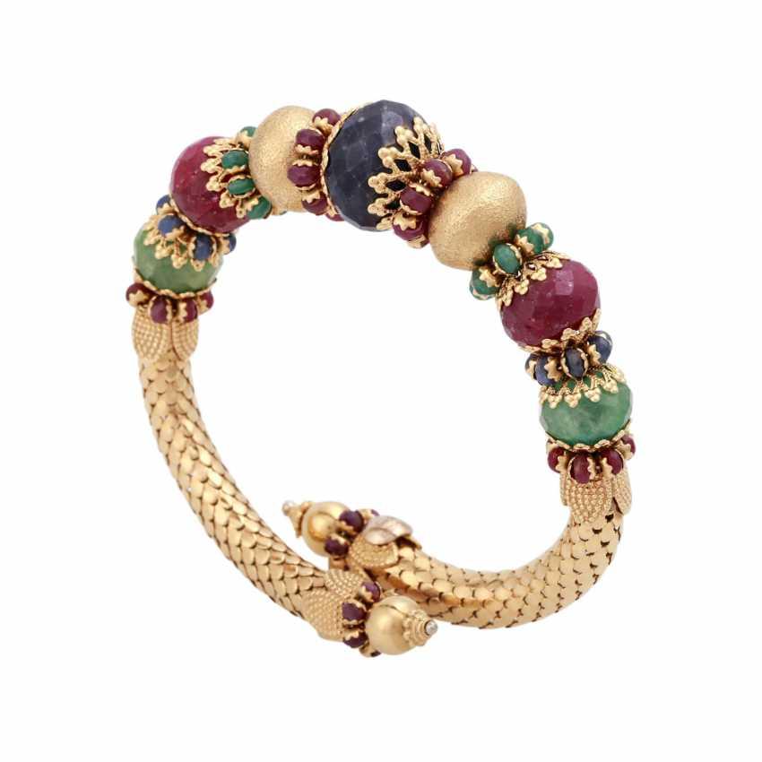 Bracelet avec à facettes, Perles, - photo 4