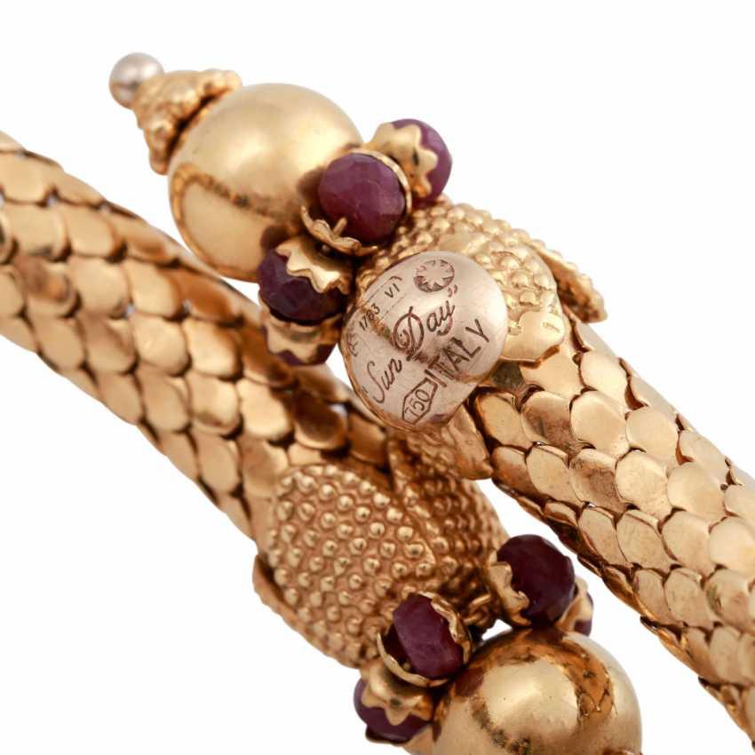 Bracelet avec à facettes, Perles, - photo 5