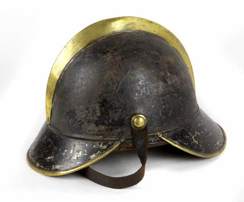 Firefighter helmet 1900's - photo 1