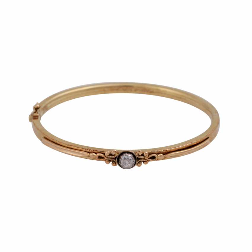 Bracelet avec Diamantrose environ 0,15 ct, - photo 1