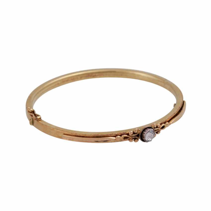 Bracelet avec Diamantrose environ 0,15 ct, - photo 2