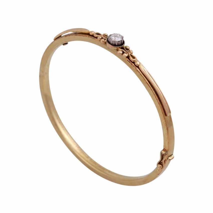 Bracelet avec Diamantrose environ 0,15 ct, - photo 4