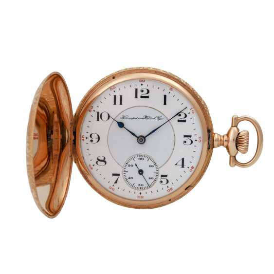 HAMPDEN Watch & co. pocket watch, USA (North Canton, Ohio) approx. 1880/1900. - photo 1