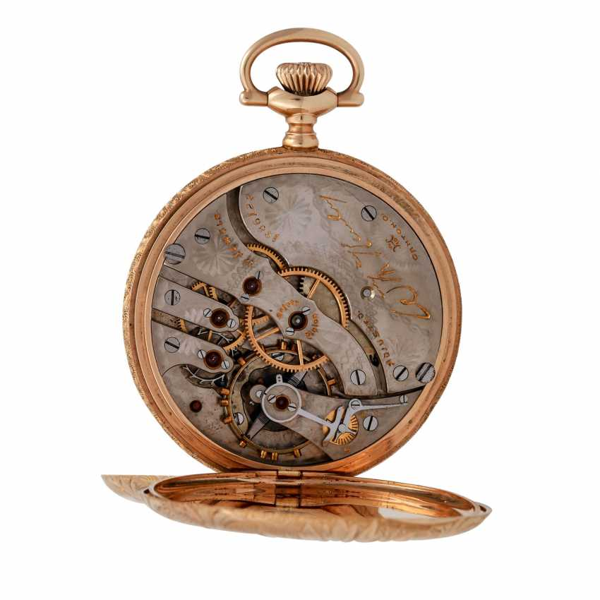 HAMPDEN Watch & co. pocket watch, USA (North Canton, Ohio) approx. 1880/1900. - photo 5