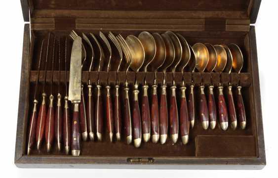 Bronze Cutlery set in a case - photo 1