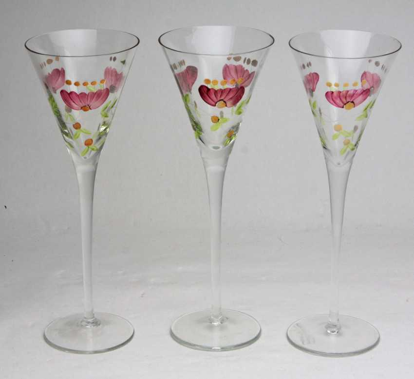 3 stems goblets - photo 1