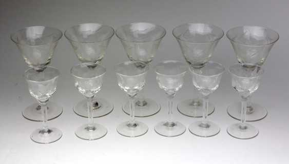 2 Sets Of Chalice Glasses - photo 1