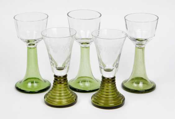 5 trompetenfuß goblets - photo 1