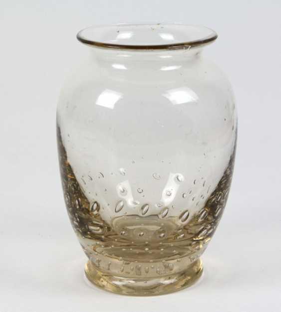 Glass vase, around 1930 - photo 1