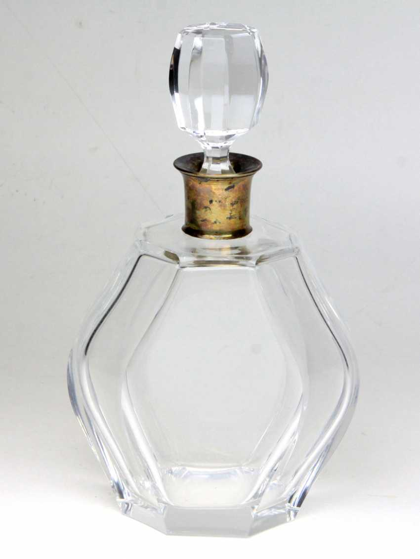 Decanter with silver mount - photo 1