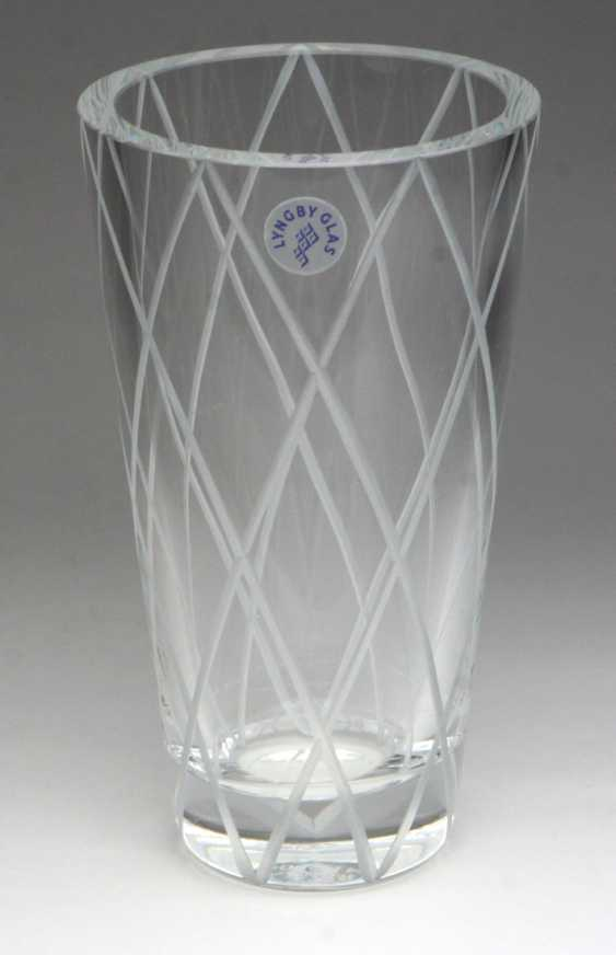Crystal Vase Denmark - photo 1