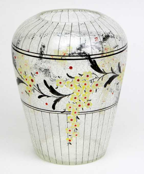 hand-painted hairline vase - photo 1