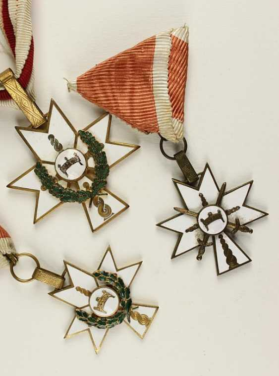 Order of the crown of king Zvonimirs, - photo 1