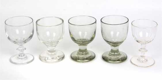 Biedermeier goblet glasses circa 1840 - photo 1