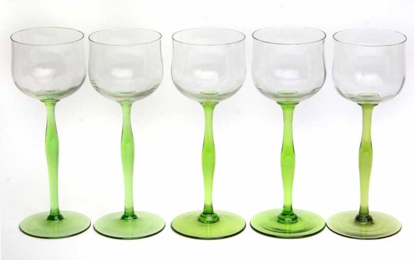 Set of art Nouveau goblets 1920 - photo 1