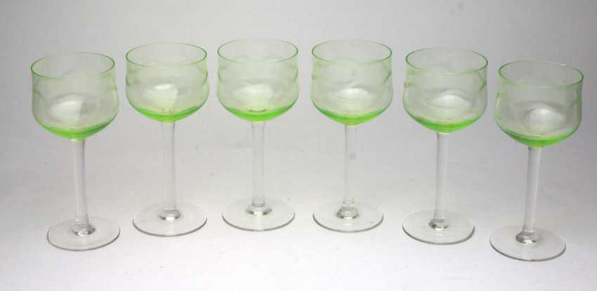 Set of WMF wine goblets - photo 1