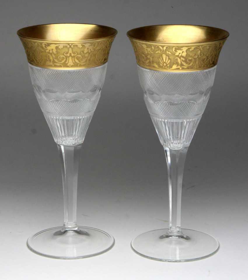 2 Wine Goblets *Splendid* Moser - photo 1