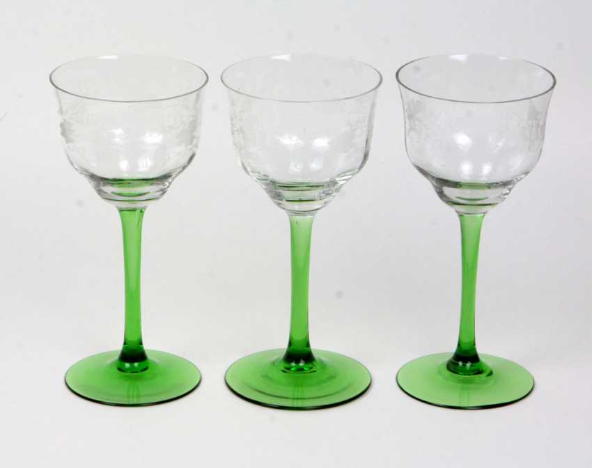3 wine goblets - photo 1