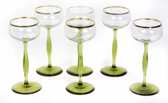 Set Of Wine Glasses Theresienthal - photo 1