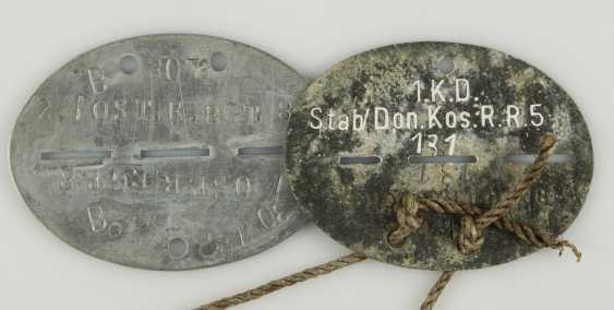 Small collection of 14 dog tags, - photo 5