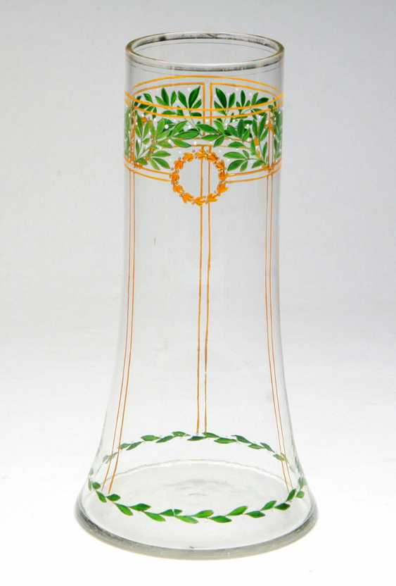 Art Nouveau Vase 1900's - photo 1