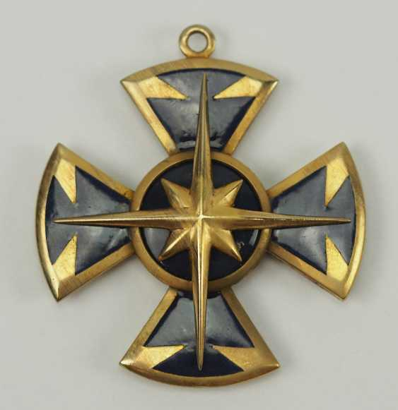 Hesse: order of the star of Brabant, knight's cross 1. Class. - photo 1