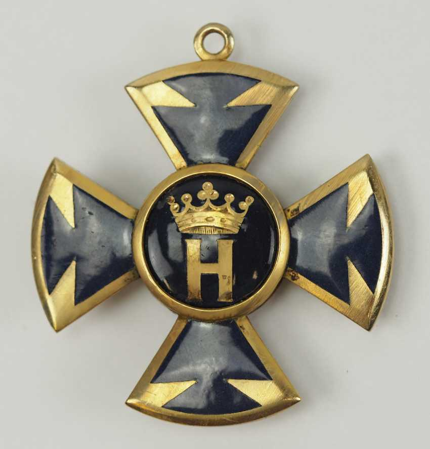 Hesse: order of the star of Brabant, knight's cross 1. Class. - photo 3