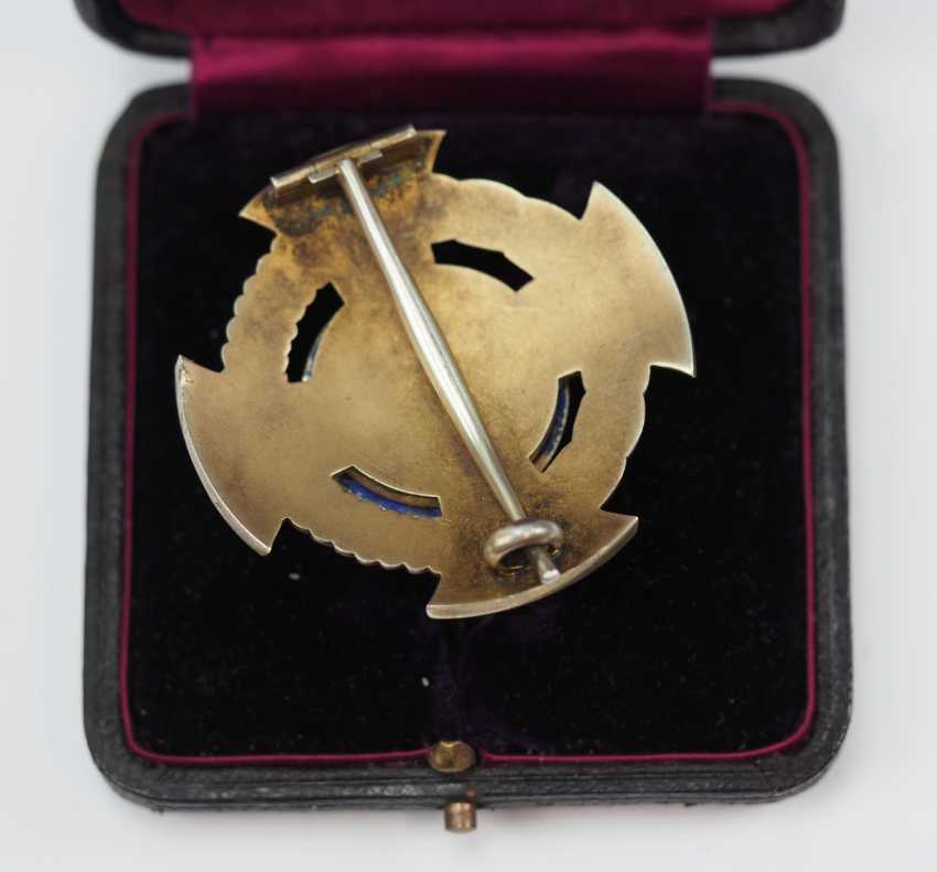Hohenzollern: Princely Hohenzollern Cher Houseorder, Cross Of Honor 1. Class, in a case. - photo 3
