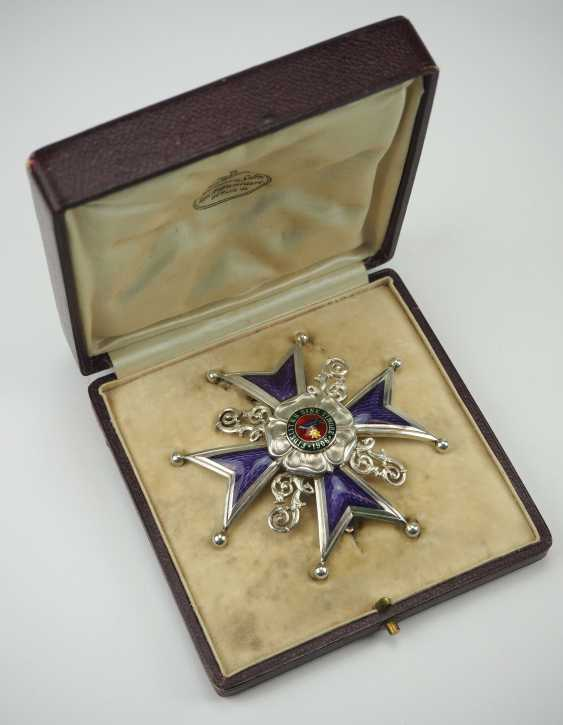 Lippe-Detmold: Leopold Order, 3. Model (from 1917), Grand cross of honour, in a case. - photo 1