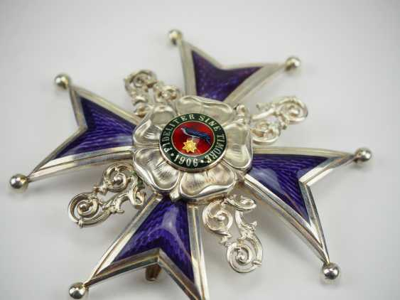 Lippe-Detmold: Leopold Order, 3. Model (from 1917), Grand cross of honour, in a case. - photo 4