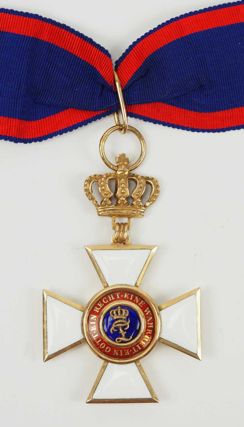 Oldenburg: house - and merit order of Peter Friedrich Ludwig, commander's cross. - photo 1