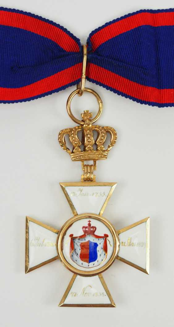 Oldenburg: house - and merit order of Peter Friedrich Ludwig, commander's cross. - photo 3