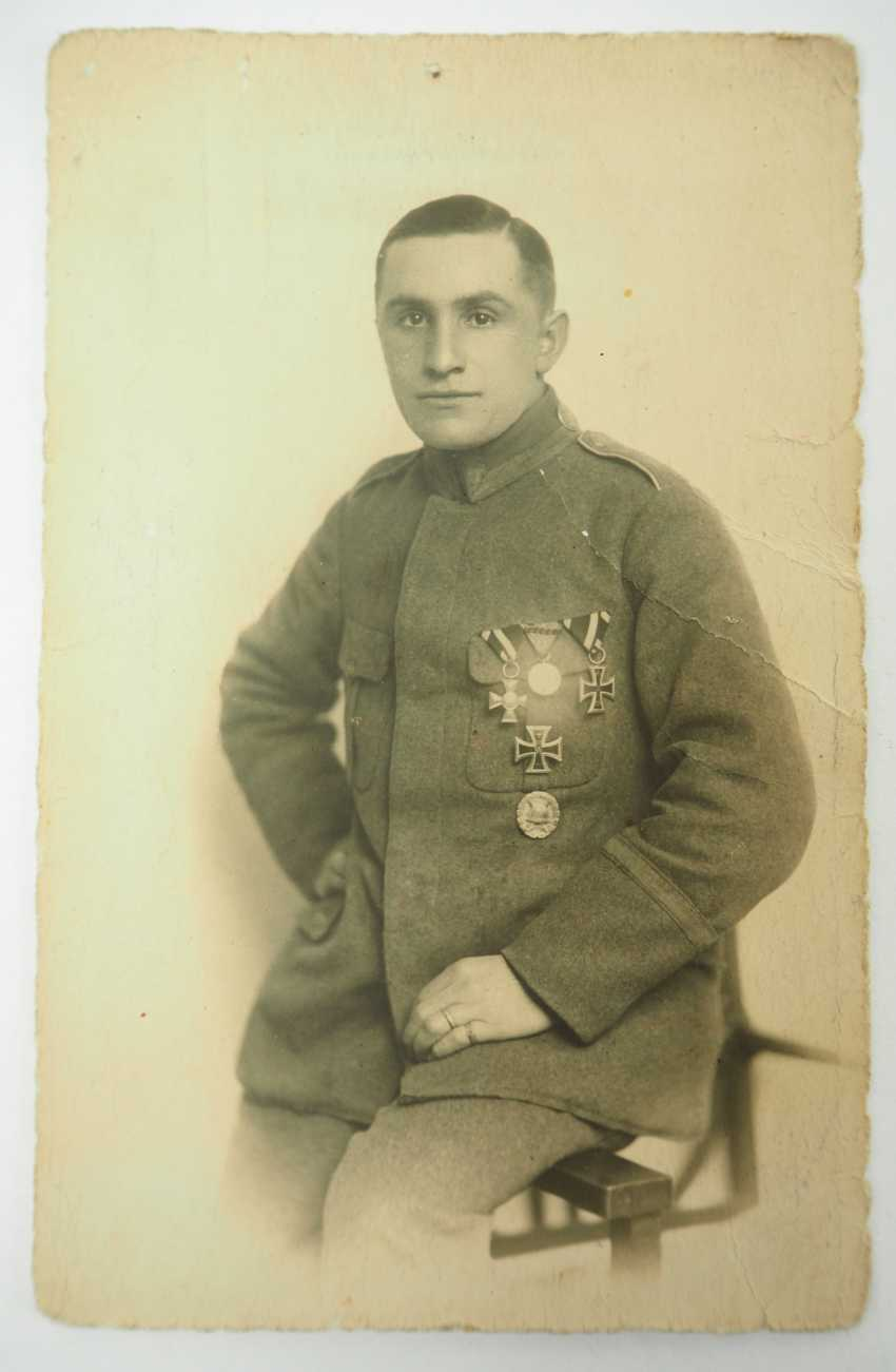 Prussia: property of staff Sergeant Hermann Scheuring, 12./ Infantry-Regiment 16 - winner of the military cross of merit. - photo 2