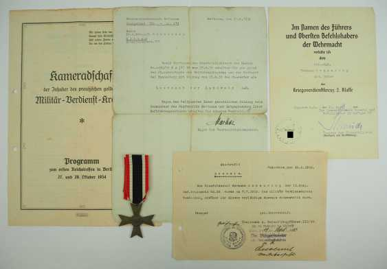 Prussia: property of staff Sergeant Hermann Scheuring, 12./ Infantry-Regiment 16 - winner of the military cross of merit. - photo 5