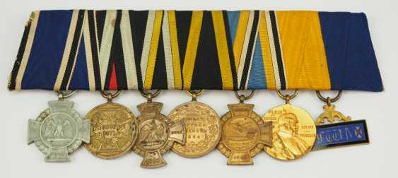 Prussia: Great medalbar of a veteran of the field trains per day travelling from 1864 to 1871. - photo 1
