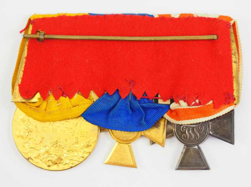 Prussia: Great medalbar of an officer with 3 awards. - photo 2