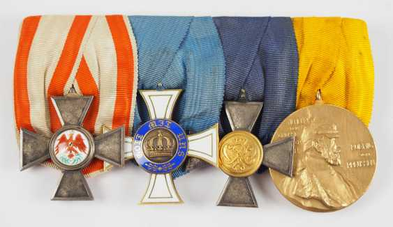 Prussia: Medalbar with 4 decorations. - photo 1
