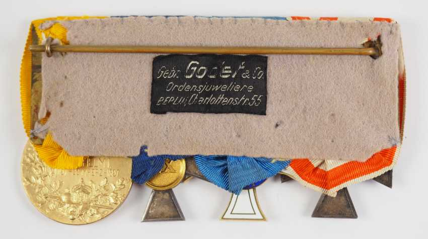 Prussia: Medalbar with 4 decorations. - photo 3