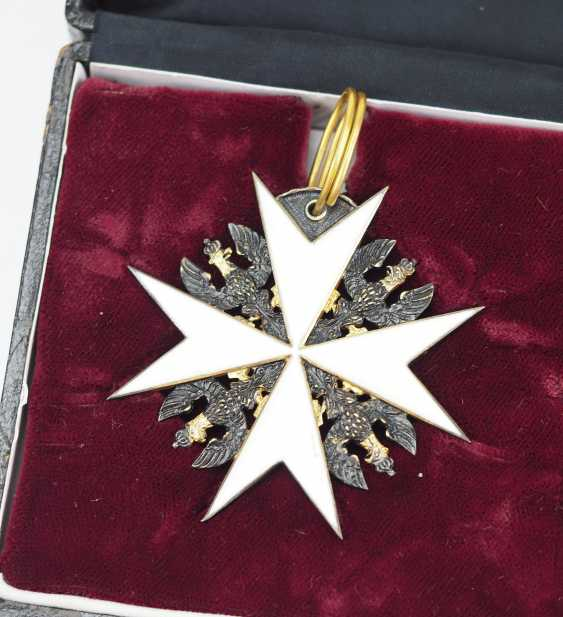 Prussia: Knights order of St. John of Jerusalem, Balley Brandenburg, knight of Honour and consecration cross, in a case. - photo 2
