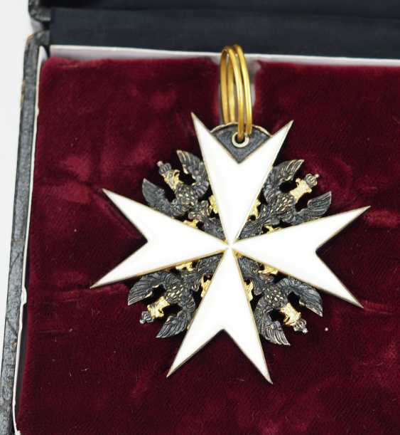 Prussia: Knights order of St. John of Jerusalem, Balley Brandenburg, knight of Honour and consecration cross, in a case. - photo 4