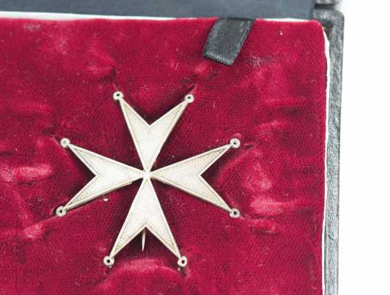 Prussia: Knights order of St. John of Jerusalem, Balley Brandenburg, knight of Honour and consecration cross, in a case. - photo 5